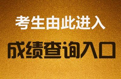2019年万博manbetx官网app下载万博体育手机版登陆成绩查询时间